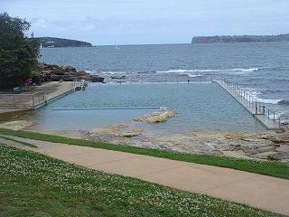 Fairlight Beach pool