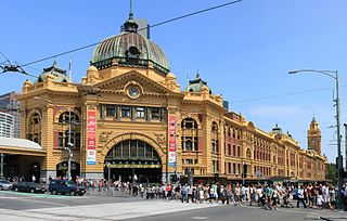 Flinder Street Station entrance