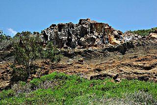 Cathedral Cliffs Fraser Island