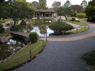 Japanese section Rockhampton Botanical Gardens