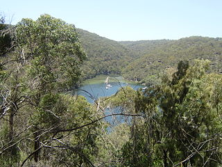 View at Ku-fring-gai Chase National Park