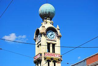 Dimmey's clock
