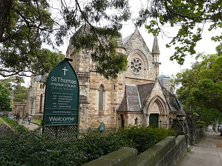 St Thomas's Church North Sydney
