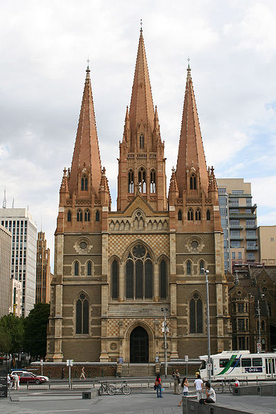 St. Paul's Cathedral, Melbourne, Australia