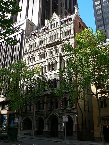 Melbourne Safe Deposit Building