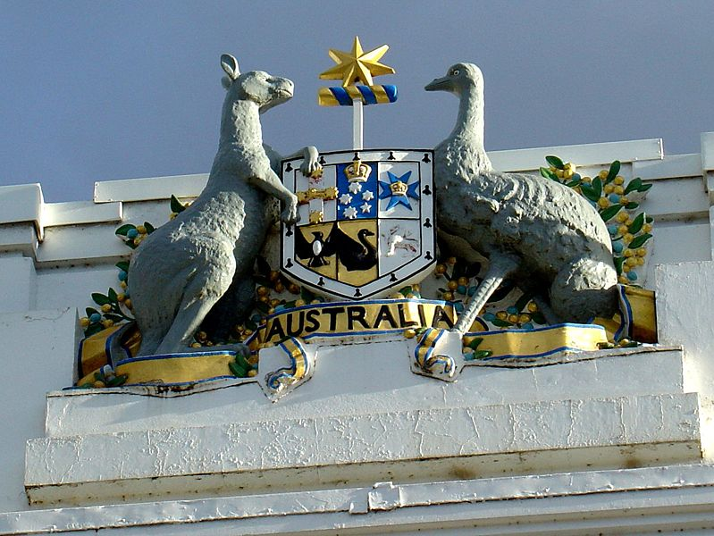 Coat of Arms                     Old Parliament House