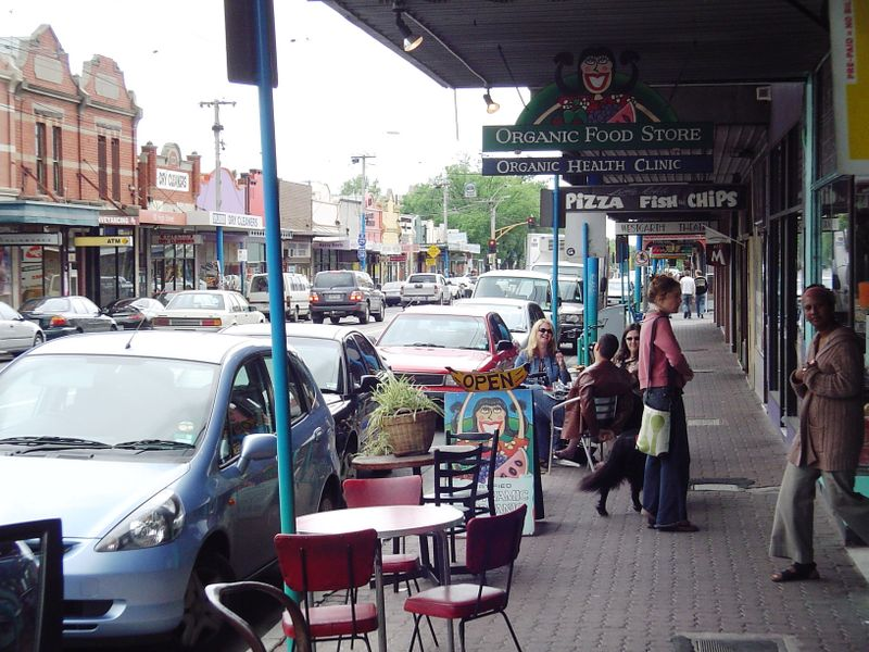 Melbourne cafe