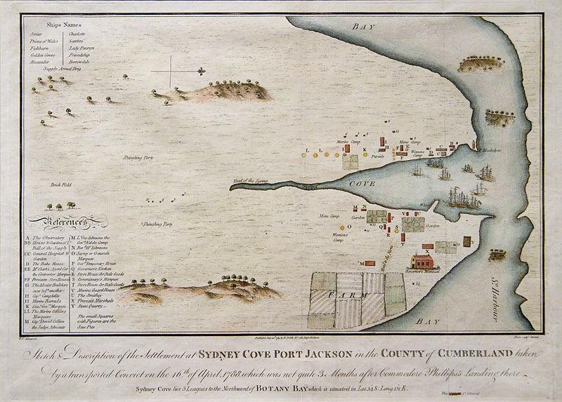 Sydney Cove 1789