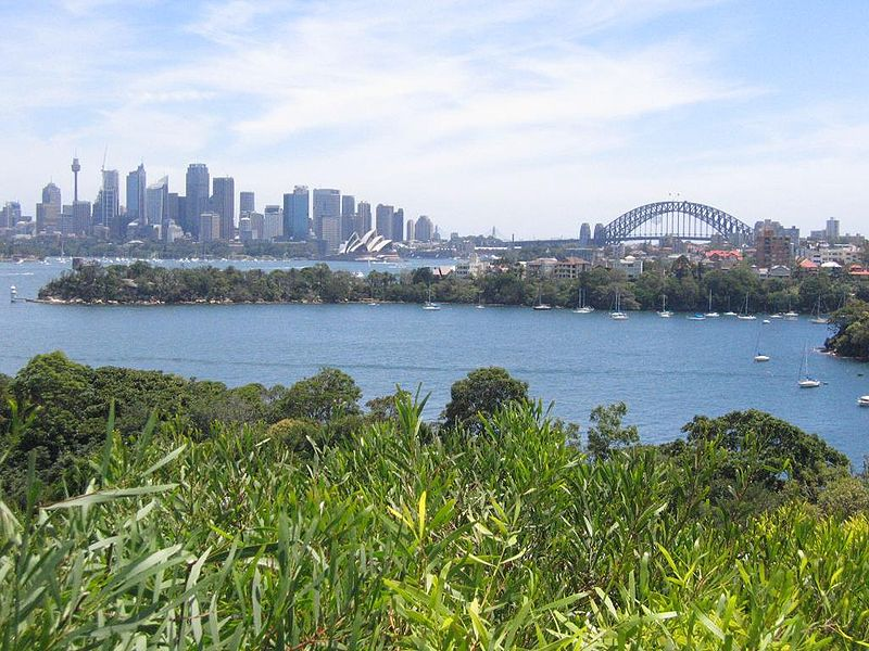 Sydney from Taronga