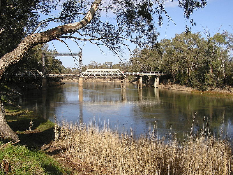 bridge across Murray River