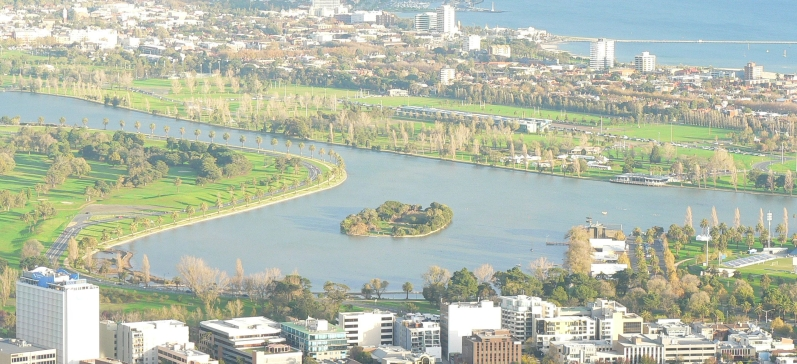Albert Park from above