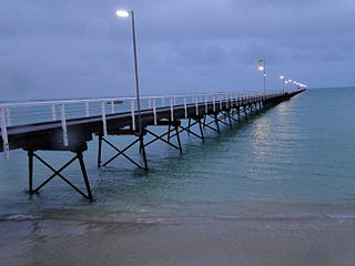 Beachport pier