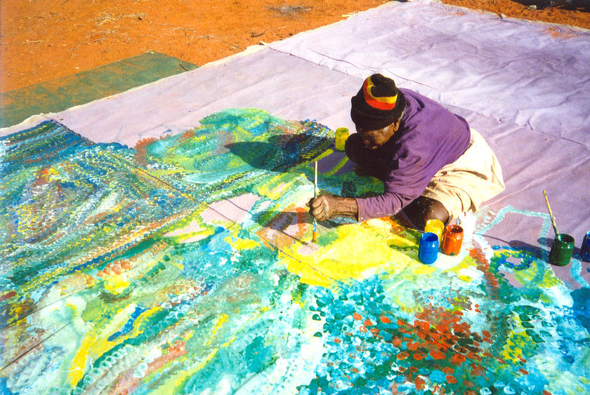 Kngwarreye earth's Creation