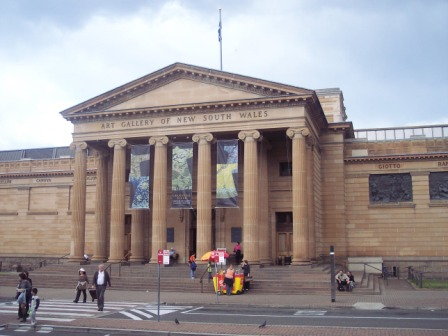 Art               Gallery of New South Wales entrance
