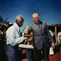 Whitlam and Linaiari 1975