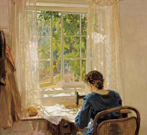 Hans Heysen Sewing