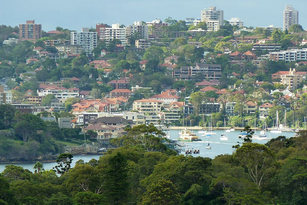 Neutral Bay panorama