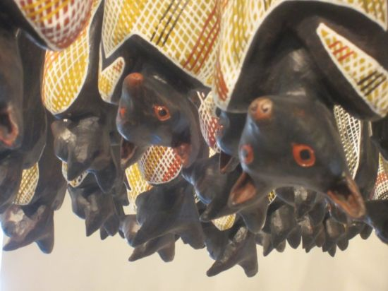 Onus's Fruit Bats detail