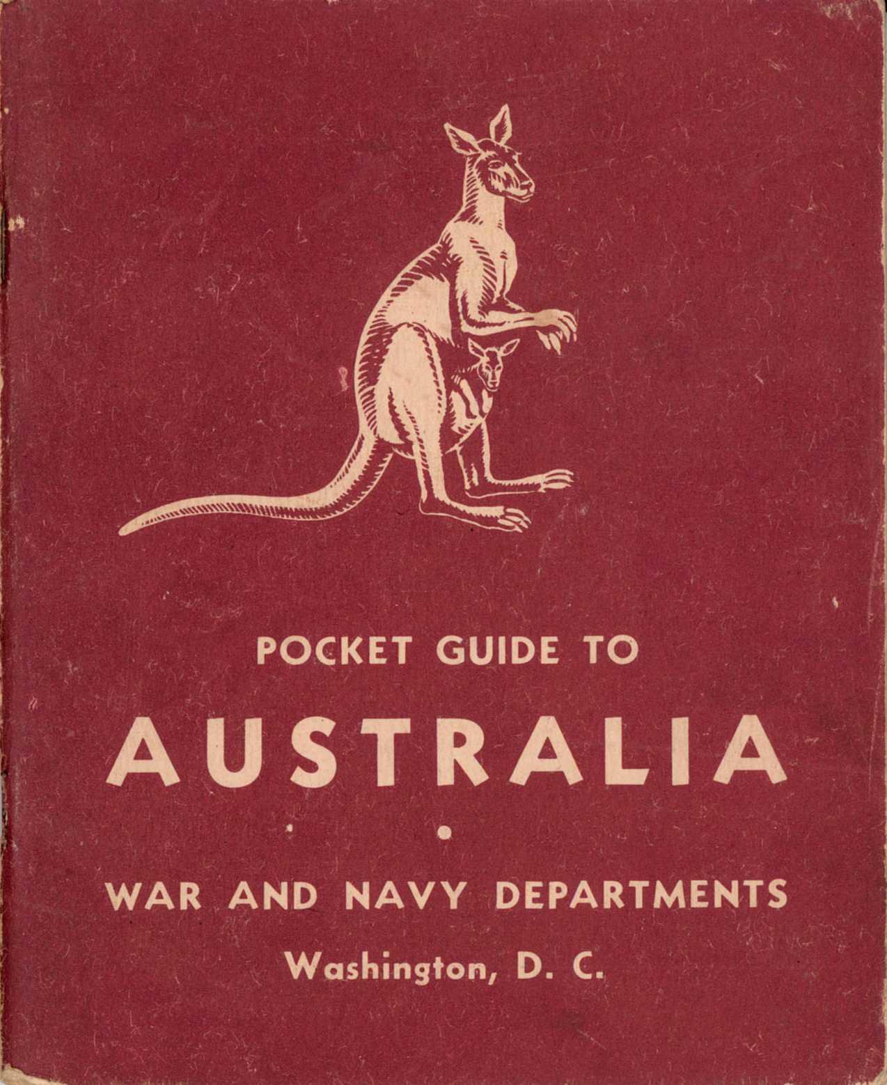 Pocket Guide to Australia                             cover