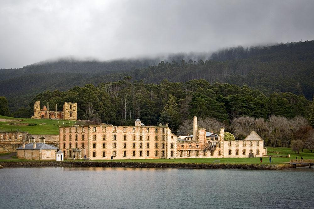 Port Arthur from ship