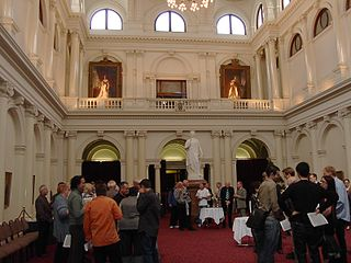 Queen's Hall Parliament House Melbourne