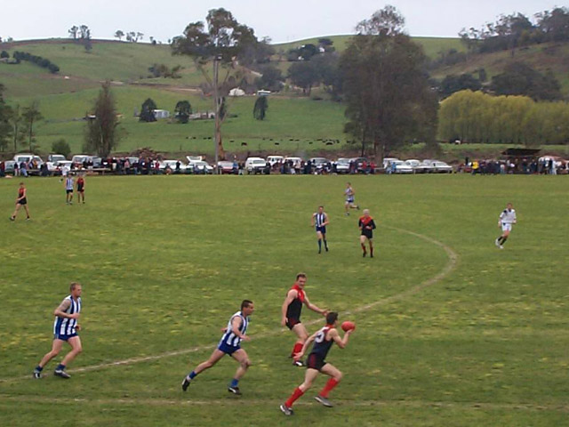 Bush league Aussie Rules