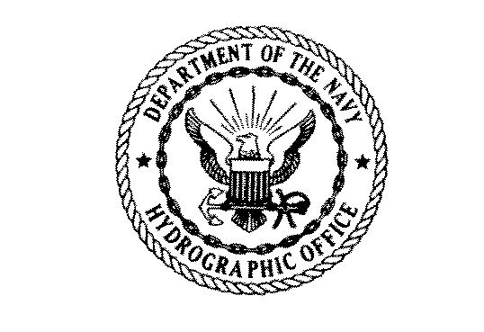 Navy           Hydrographic Office seal
