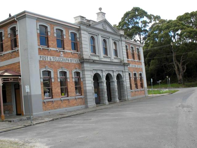 Strahan Customs             House