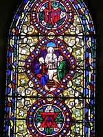 St Matthew's Anglican Church window