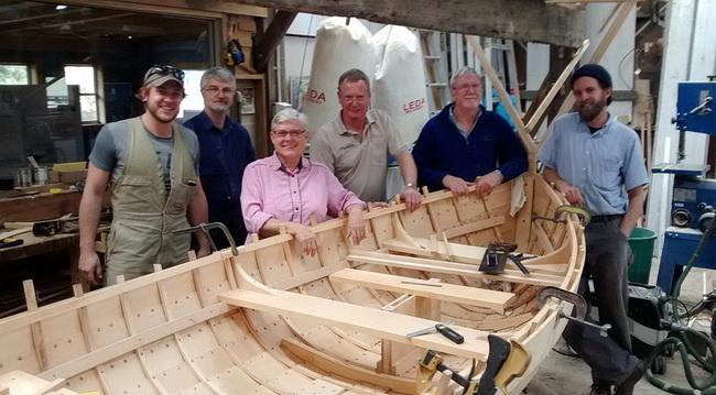 Building a dinghy