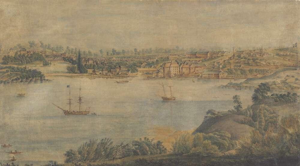 View of Sydney